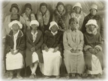 African American midwives group photo