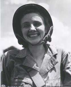 Army nurse Mary Brown