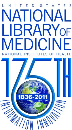 NLM 175th anniversary logo