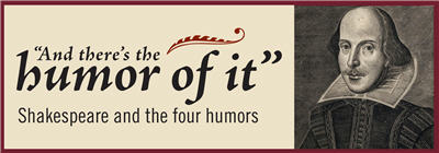 """And there's the humor of it"" logo"