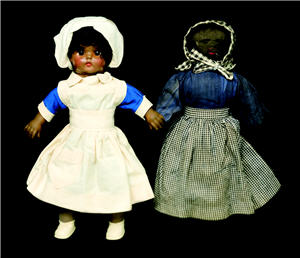 Photo of midwife dolls
