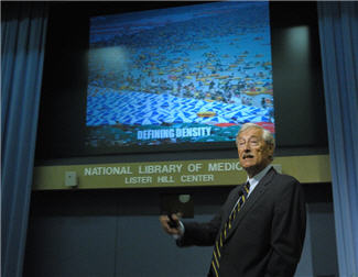 Dr. Burkle Delivers 2012 Leiter Lecture