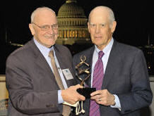 Photo of the Honorable John Porter and Ken Walker, MD