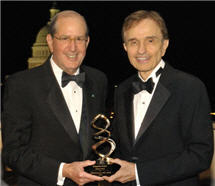 Photo Alfred Sommer, MD, MHS and Joseph Perphich, MD, JD