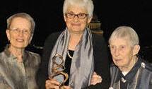 Barbara Redman, Anna Schnitzer, and Lucretia McClure