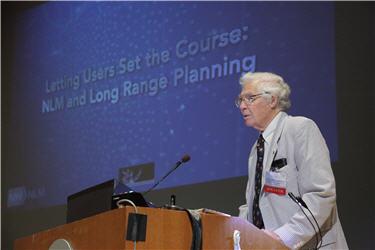 NLM Director Donald A.B. Lindberg, MD