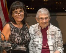Patricia Bradley Receives FNLM Debakey Award