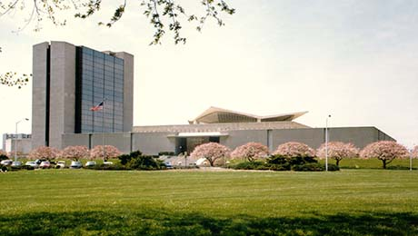 The National Library of Medicine building