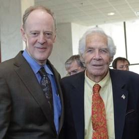 Bradley Stevens and Dr. Lindberg