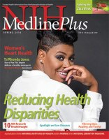 Magazine cover showing Ta'Rhonda Jones