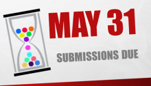 May 31: Submissions Due
