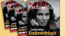 Cover of Summer 2016 issue of MedlinePlus magazine with photo of Padma Lakshmi
