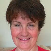 casual headshot of Myra Derbyshire