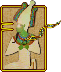 OSIRIS logo shows the Egyptian god of the dead holding a DNA strand