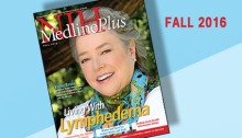 Cover of Fall 2016 issue of MedlinePlus magazine with photo of Kathy Bates