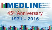 MEDLINE 45th Anniversary, 1971-2016