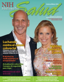 Cover of magazine with Carmen Marc Valvo and Katie Couric