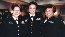 Admirals Antonia Novella, Audrey Manley, and Joycelyn Elders