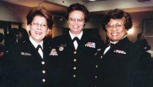 Admirals Antonia Novella, Audrey Manley, and Joycelyn Elders
