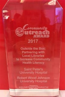 The Community Outreach Award for 2017