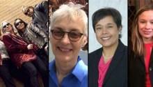 Photo montage of seven women
