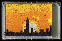 Silhouette of the New York skyline