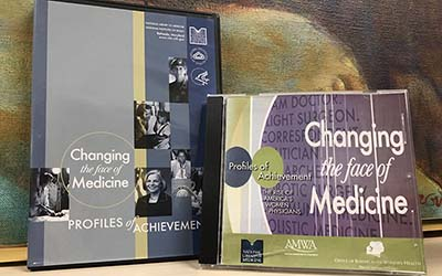 DVD and CD covers for Changing the Face of Medicine