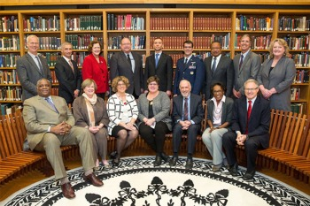 formal group photo of the NLM Board of Regents