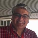 casual headshot of Sameer Antani
