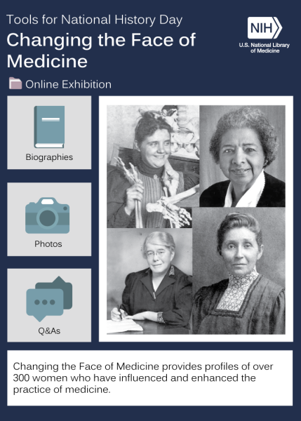 montage of images representing Changing the Face of Medicine