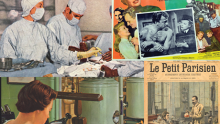 montage of images from the NLM blog Circulating Now