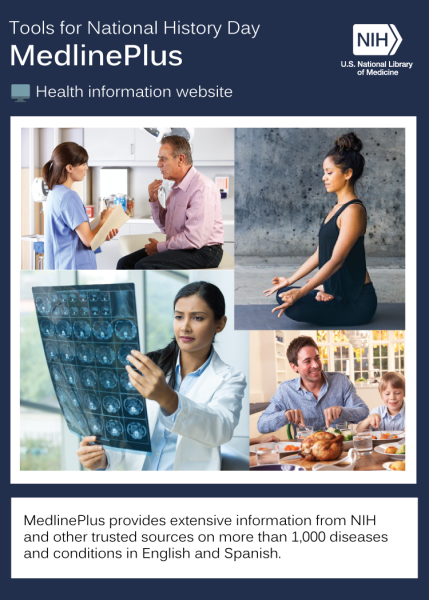montage of images representing MedlinePlus