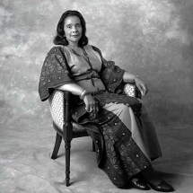 formal photographic portrait of Mrs. King