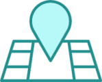 simple icon representing mapping