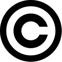 "copyright symbol: a ""C"" in a circle"