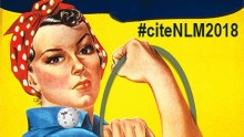Rosie the Riveter promotes NLM's Wikipedia Edit-athon