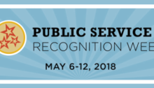 Public Service Recognition Week, May 6-12, 2018