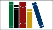 five books with different colored covers