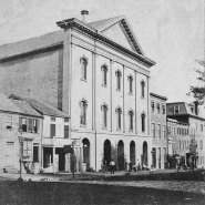 black & white photograph of Ford's Theater