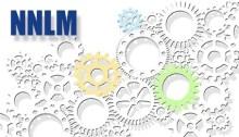 "interlocking gears labeled ""NNLM"""