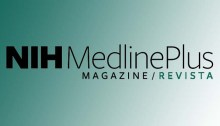 MedlinePlus magazine logo in English and Spanish